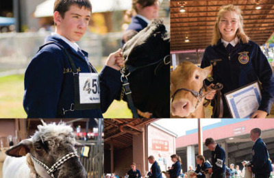 Agriculture's Bright Future: In addition to farming, FFA members study Business, Science and Technology of Agriculture