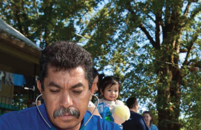 Vital Stats from the Field: Virginia Garcia Memorial Health Center's Outreach Team travels to farm camps, providing healthcare for 1,800 migrant farmworkers each year