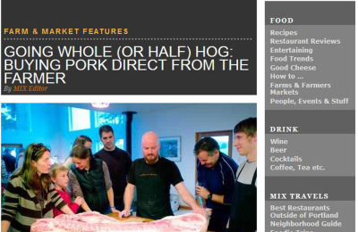 Going Whole (or Half) Hog: Buying Pork Direct from the Farmer