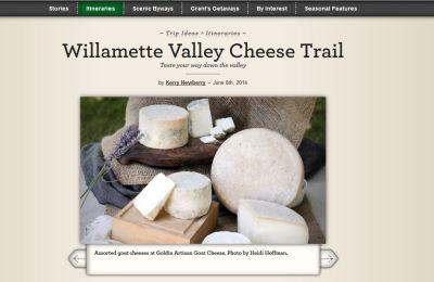 Willamette Valley Cheese Trail