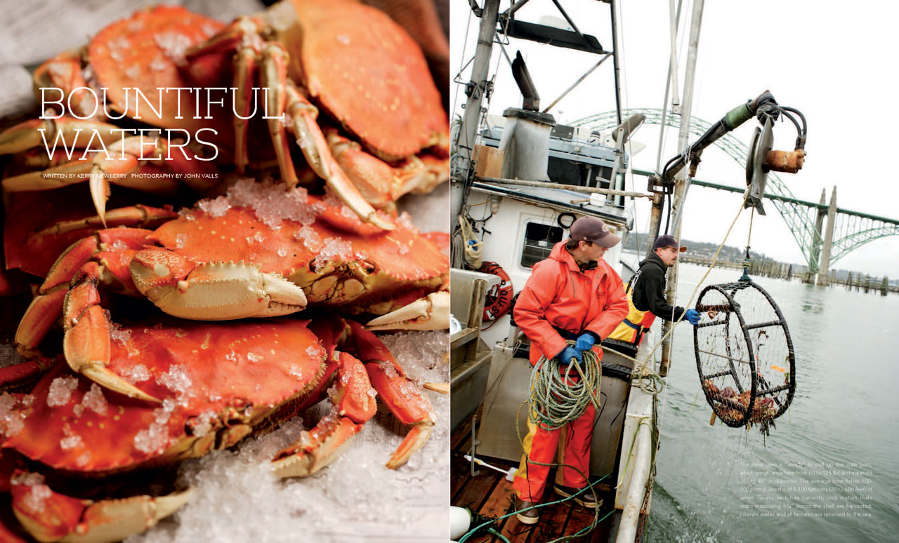 Bountiful Waters: Newport's Dungeness Crabbing Season
