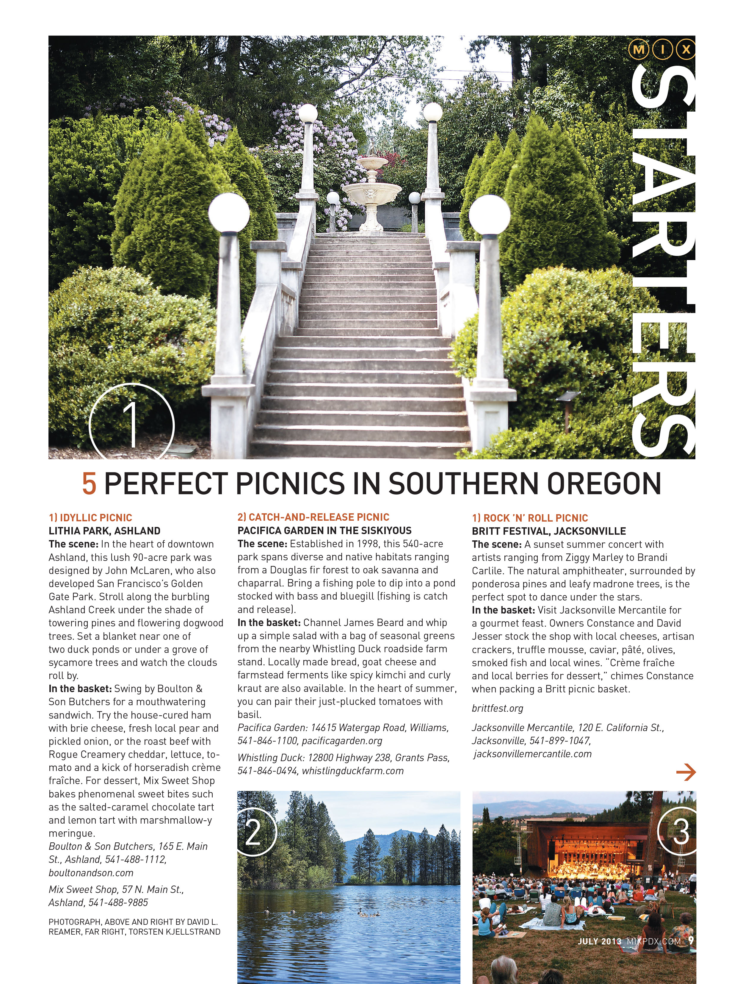 5 Perfect Picnic Places in Southern Oregon