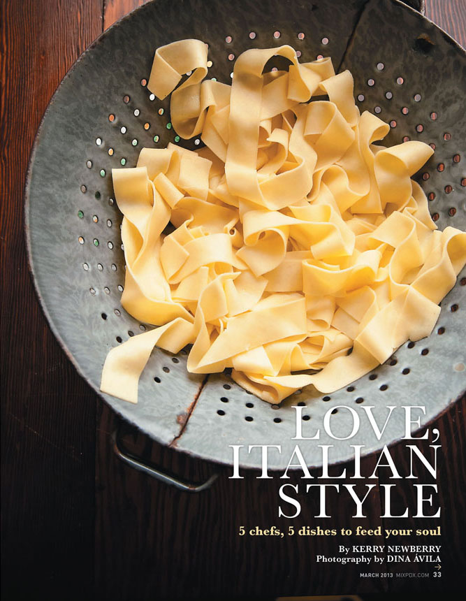 Comfort Food Italian Style Five Portland Chefs Share Recipes