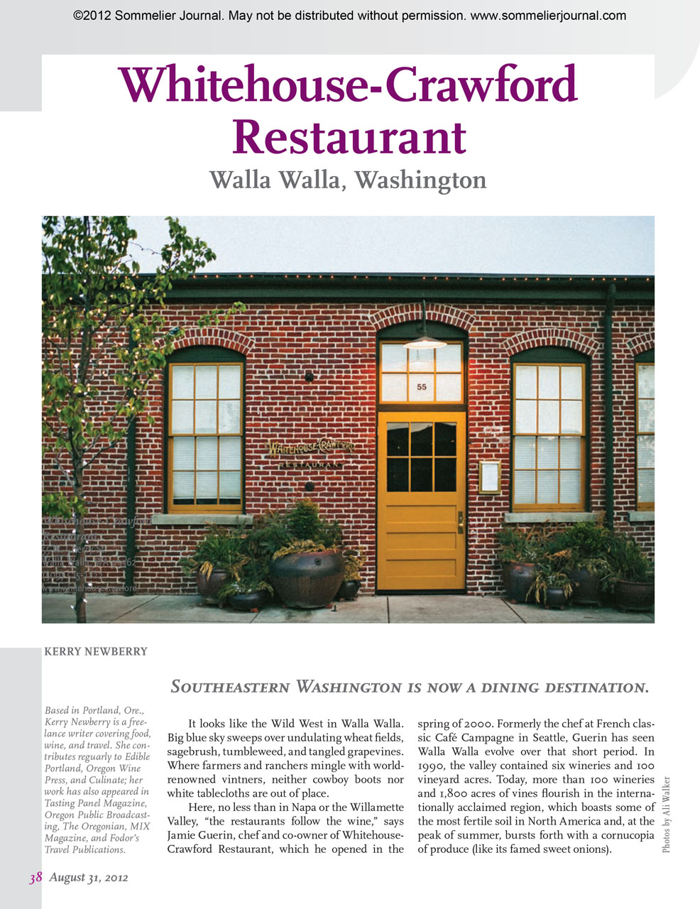Wine Archives - Page 2 of 2 - Kerry Newberry | writer