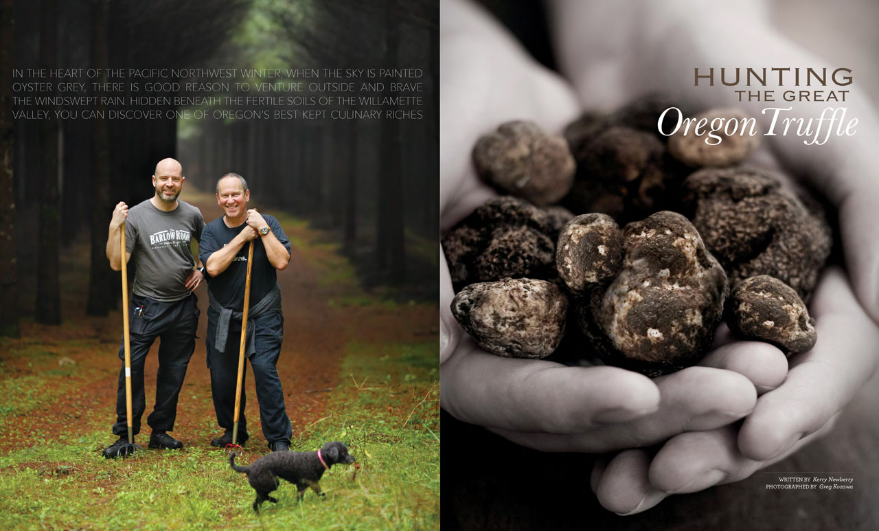 Hunting the Great Oregon Truffle