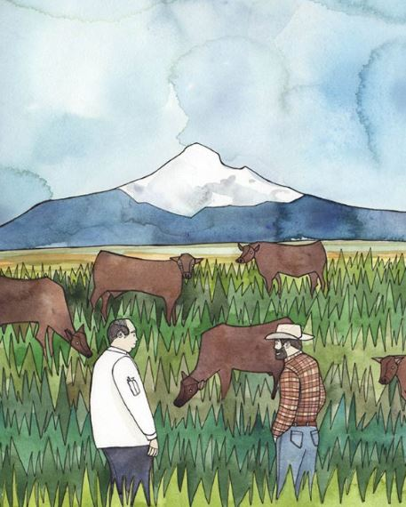 Timberline Lodge stays close to home with a new rancher-direct beef program
