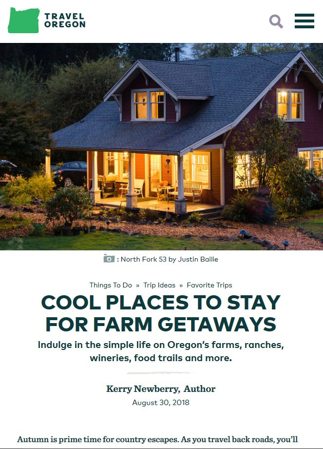 Cool Places to Stay for Farm Getaways